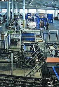 Линия оптимизации низкосортных пиломатериалов на ЛПК «Аркаим»