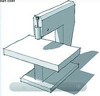 а) – с одним шпинделем на консоли и  перемещением стола в двух направлениях;
