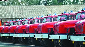Новая техника Курганского лесопожарного центра