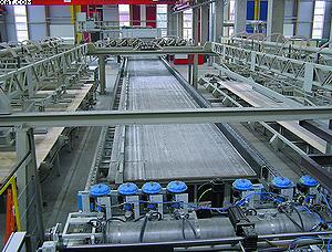 Производство перекрестно-клееных панелей