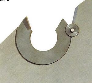 Рис. 3. Обрезной резец с пружинными зубьями