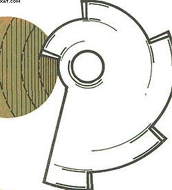 Рис. 7. Ступенчатый нож