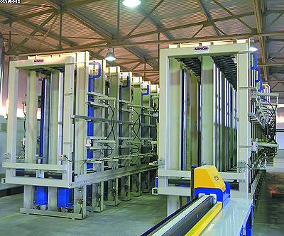 Прессы MINDA для склеивания строительного бруса