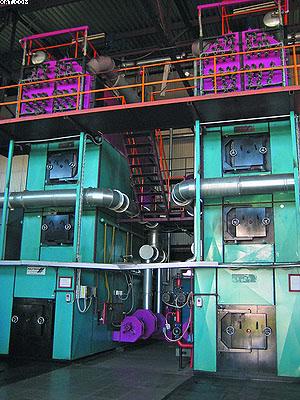 Котельная Малиновского участка ЛЗЮ оборудована двумя котлами Polytechnik мощностью 4,5 МВт каждый