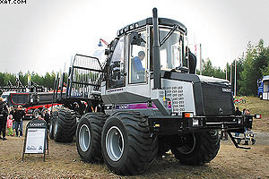 14-тонный форвардер Logset 6F GT