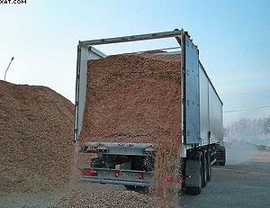 Технологическая щепа служит топливом для котельных и сырьем для производства плит ДСП
