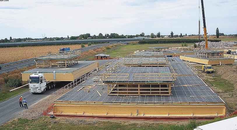 Строительство промышленных цехов Menu (Модена)