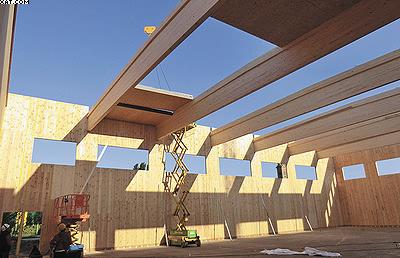 Строительство учебного корпуса школы Корпорено в г. Ченто