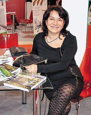 Жульетта Стоянова (Spanevello) на стенде TMA