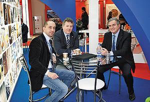 Паолетти Пьерлуиджи, Вальтер Биаджи и Паоло Ломбардини (SCM Group)