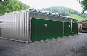 Две сушильные камеры GreenKilns в Германии