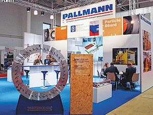 Стенд компании Pallmann
