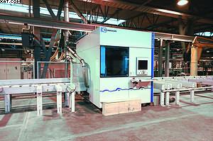 Обрабатывающий центр WEINMANN Profiline WBZ 150 для каркасно-панельного домостроения