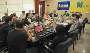 Встреча делегации с представителями завода Nanxing