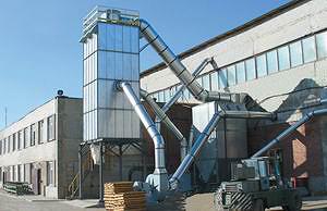 На заводе установлена аспирационная система компании «Консар»