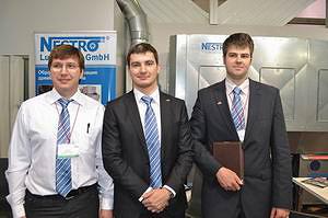 Сотрудники компании Nestro (слева направо: Андрей Крисанов, Алексей Савелов, Дмитрий Помазунов)