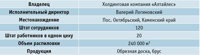 Краткие сведения о заводе «Каменский ЛДК»
