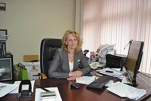 Генеральный директор ОАО МКО «Севзапмебель» Ирина Лебедева