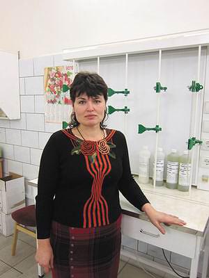 Татьяна Николаевна Войтова, зам. начальника цеха, старший технолог