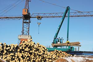 Машина для сортировки и транспортировки круглого леса Baljer & Zembrod RUW