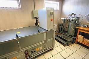 В лаборатории: микроволновая печь для сушки и автоклав