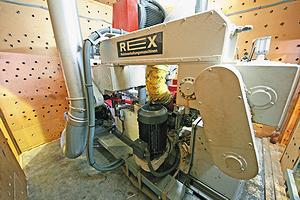 Четырехсторонний станок Rex