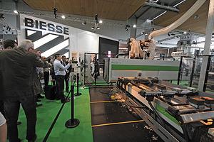 Оборудование Biesse на выставке Ligna 2013