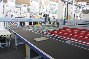 Автоматизированный комплекс OTT Transedge 3000 для облицовывания кромок мебельных деталей