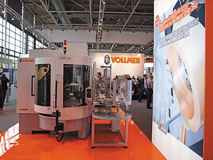 Заточный станок Vollmer QXD 250 на Ligna