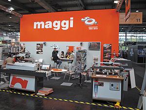 Стенд компании компании Maggi Engineering на выставке Ligna