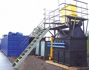 Газогенераторная энергетическая установка ГГЭУ-100 электрической мощностью 100 кВт (разработка ООО «ЦНИДИ»)