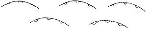 Рис. 4. Типы окорочных балок