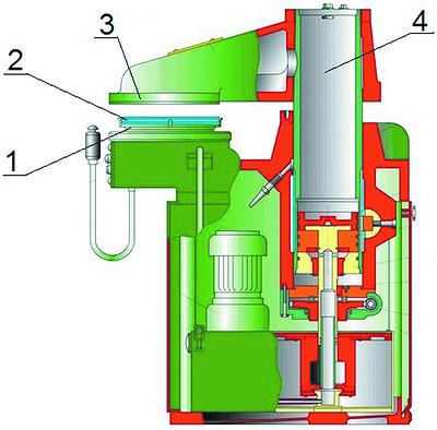 Схема вырубного станка для