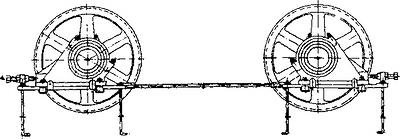 Рис. 5. Опорная станция с винтовыми стяжками