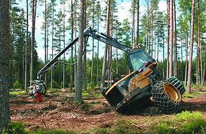 Харвестер Eco Log 560D