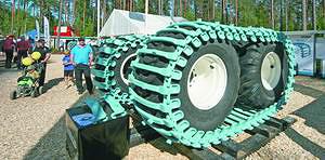 Гусеницы Olofsfors для лесозаготовительной техники