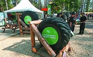 Шины для лесозаготовительной техники Nokian