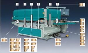 Рис. 3. Станок-автомат для производства деталей оконных блоков