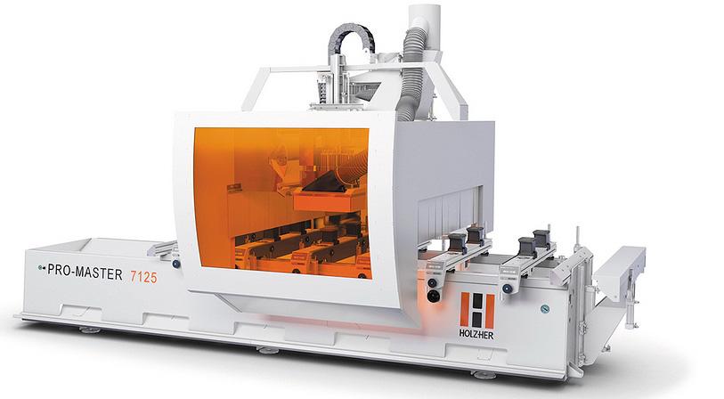 Новинка от Holz-Her: 5-осный обрабатывающий центр Pro-Master 7125