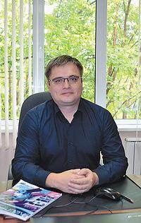 Владимир Бархет, исполнительный директор ЕФК