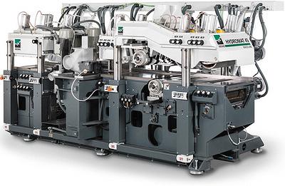 Линия сращивания PowerJoint15 в комбинации с торцовочным станком OptiCut450 XL (Weinig)