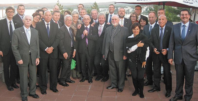 Участники ежегодной ассамблеи Eumabois в г. Ювяскюля
