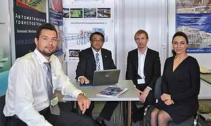 Максим Лобатый (Suzuko), Танака Киёаки и Тихон Сапаров (Fuji Seisakusho), Елена Шумейко («ЛесПромИнформ»)