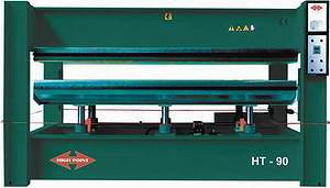 Пресс однопролетный HT 90 с нижним расположением гидроцилиндров и нижней подвижной плитой (HIGH POINT)