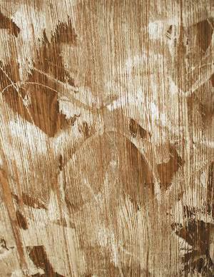 Натуральный крашеный шпон, стилизованный под состаренную древесину