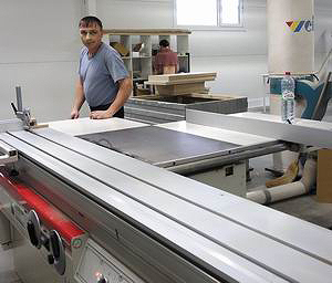 Значительная часть оборудования, а также покрасочные материалы – итальянских фирм