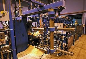 Система смены инструмента на станке EuroSaw FDP