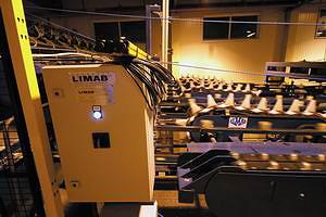 Линия сортировки сырых пиломатериалов Almab