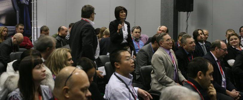 Вопрос из зала на конференции по плитам OSB