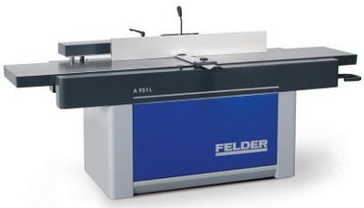 овинки кромкооблицовочных станков, фуговальный станок с удлиненным столом, а также обрабатывающий центр с ЧПУ продемонстрирует компания Felder Group